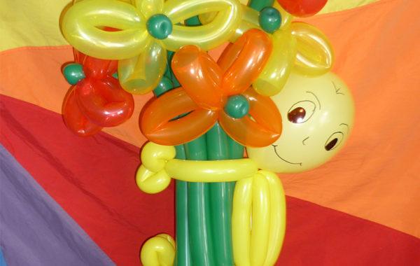 Postacie balonowe i bukiety balonowe